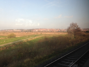 On the Train to Frederikshavn