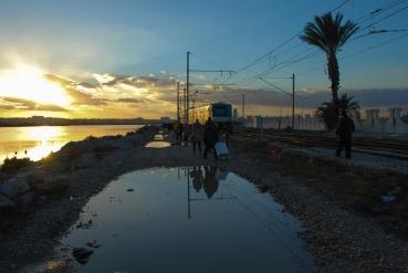 When the train breaks down in Tunis