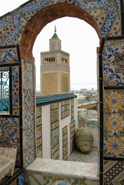 Tunis, Tile and Mosque