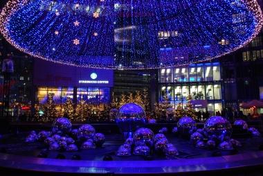 Christmas Lights on New Year's