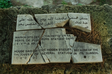 Trilingual Sign in Carthage