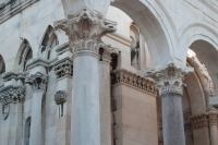 The preservation of the different parts around the peristyle was wonderful to see.