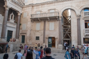 """One thing I have not mentioned is an exciting bit of pop culture information: Croatia is home to several filming locations for the incredible HBO series, """"Game of Thrones."""" Parts of Split are used for much of the setting of Mereen, including the basements of the palace..."""